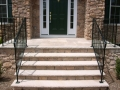 Stone Veneer Facade and Sandstone Steps, Avalon, NJ