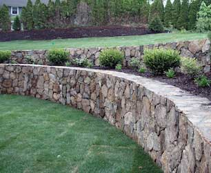 Retaining Walls & Foundation